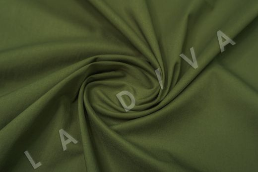 Хлопок сорочечный цвет хаки