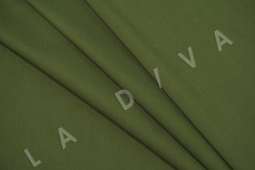 Хлопок сорочечный цвет хаки рис-4