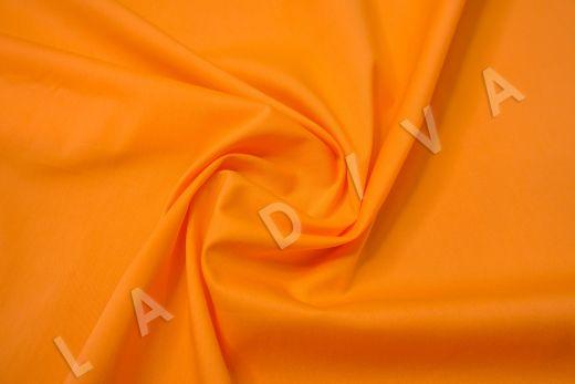 Хлопок сорочечный оранжевого цвета