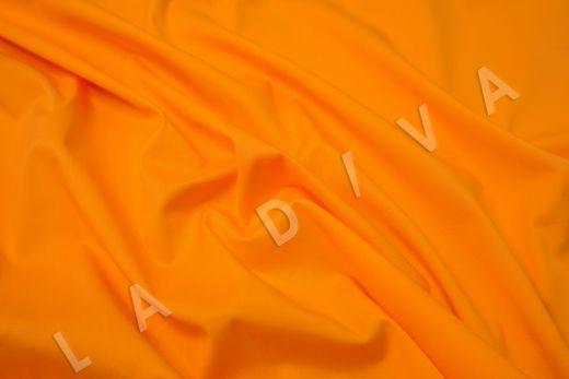 Хлопок сорочечный оранжевого цвета рис-2