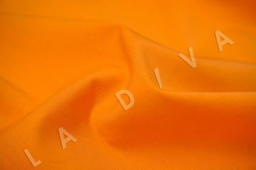 Хлопок сорочечный оранжевого цвета рис-3