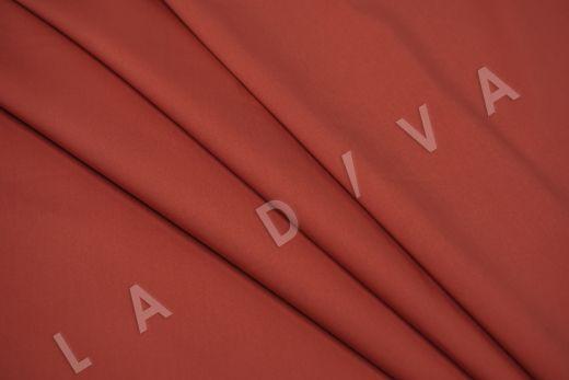 Хлопок сорочечный терракотового цвета рис-4