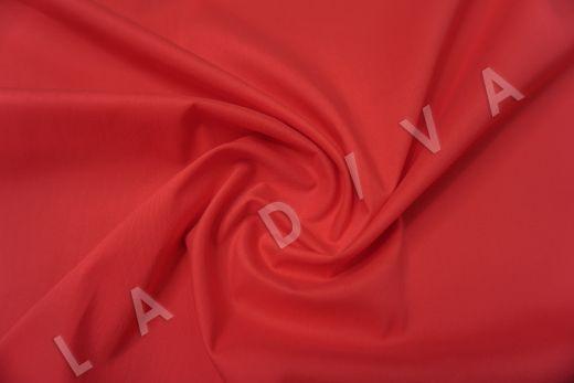 Хлопок сорочечный красного цвета