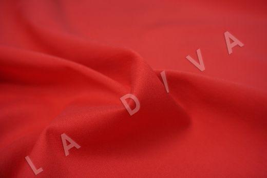 Хлопок сорочечный красного цвета рис-3