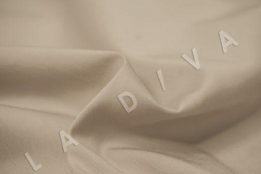 Хлопок сорочечный бежевого цвета рис-3