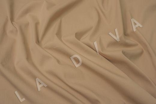 Хлопок сорочечный бежевого цвета рис-2