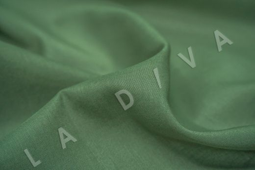 Батист однотонный зеленого цвета  рис-3