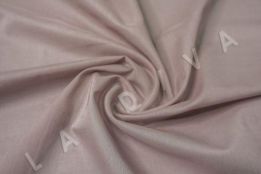Батист однотонный цвета пыльной розы