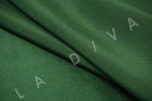 Шелк атласный однотонный зеленого цвета рис-3