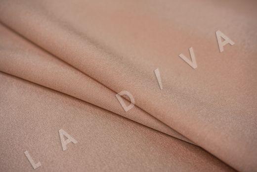 Шелк атласный однотонный персикового цвета рис-3