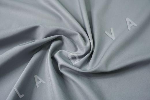 Костюмный стрейч хлопок серо-голубого цвета рис-2