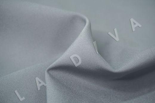 Костюмный стрейч хлопок серо-голубого цвета рис-4