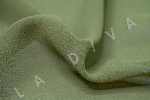 Креповый шифон зеленого цвета рис-2