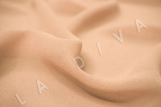 Креповый шифон персикового цвета рис-2