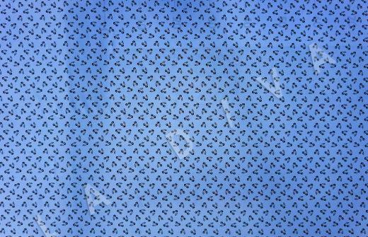 шелковый крепдешин с принтом «Вишни»  рис-2