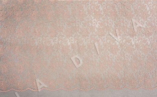 вышивка на сетке с цветочным орнаментом розового цвета рис-2