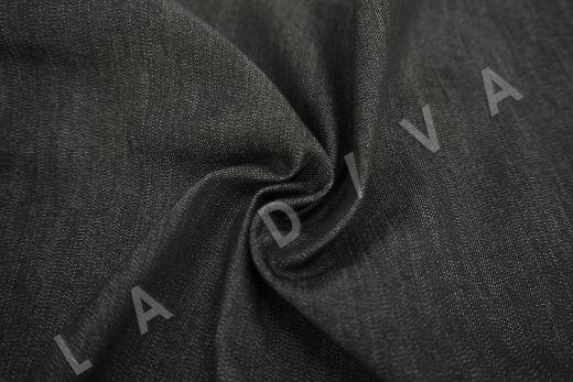 костюмный джинс черного цвета