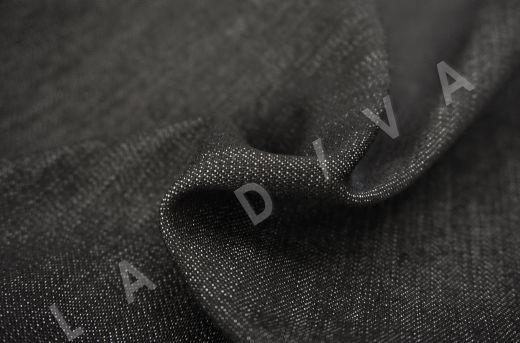 костюмный джинс черного цвета рис-2