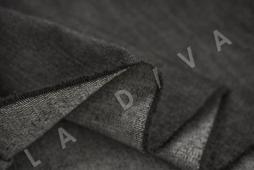костюмный джинс черного цвета рис-4