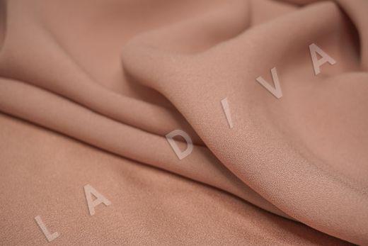 Вискоза кади персикового цвета рис-4