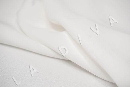 Вискоза кади белого цвета рис-4