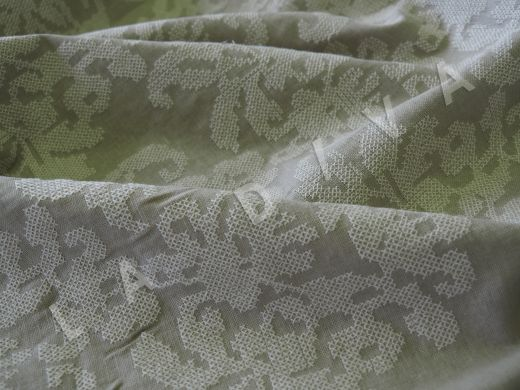 Оригинальный  лен с вышивкой