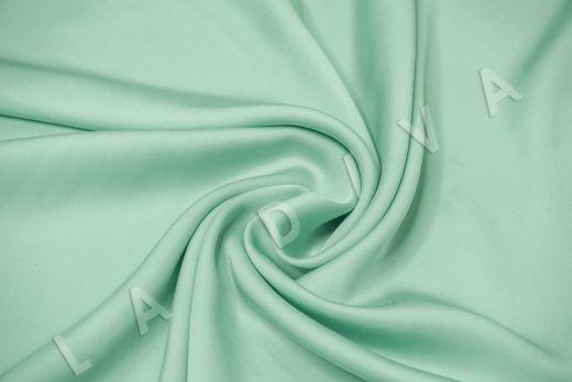 Вискоза плательно-костюмная мятного цвета