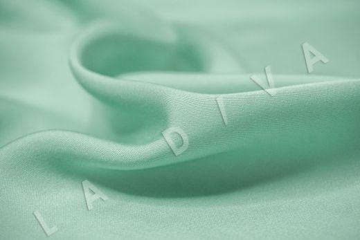 Вискоза плательно-костюмная мятного цвета рис-3
