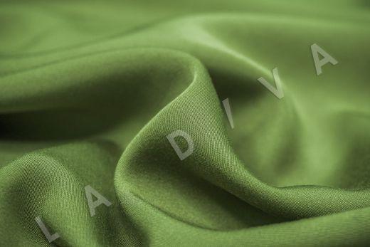 Вискоза плательно-костюмная зеленого цвета рис-3