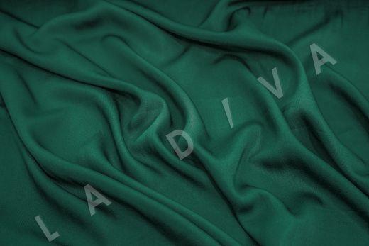 Вискоза плательно-костюмная изумрудного цвета рис-2