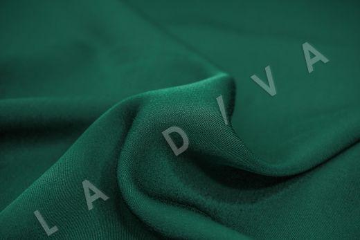 Вискоза плательно-костюмная изумрудного цвета рис-3
