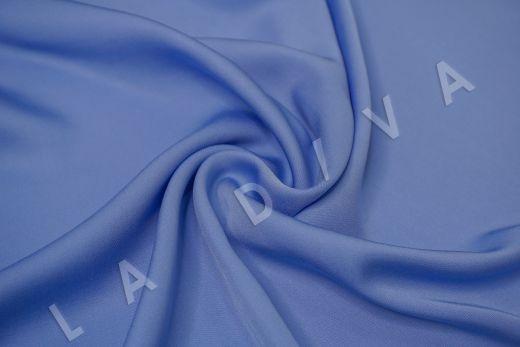Вискоза плательно-костюмная голубого цвета
