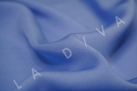 Вискоза плательно-костюмная голубого цвета рис-3