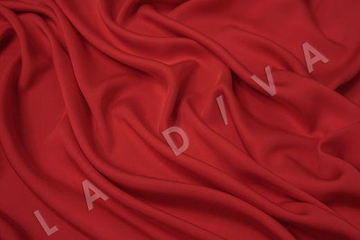 Вискоза плательно-костюмная красного цвета рис-2
