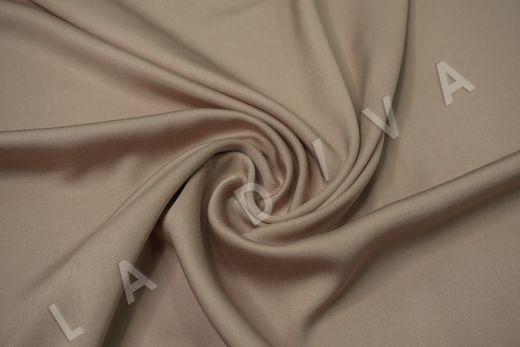 Вискоза плательно-костюмная бежевого цвета