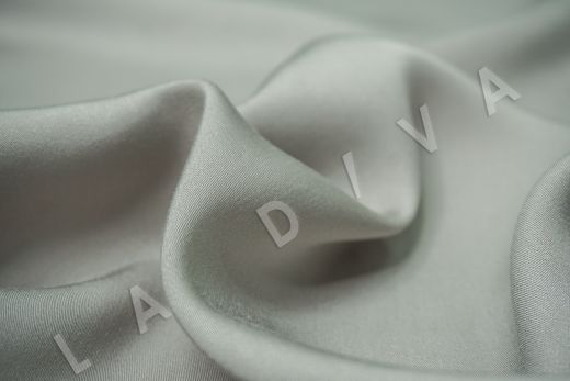 Вискоза плательно-костюмная светло-оливкового цвета рис-3