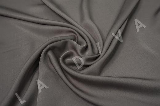 Вискоза плательно-костюмная темно-серого цвета