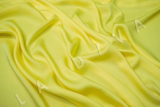 Вискоза плательно-костюмная желтого цвета рис-2
