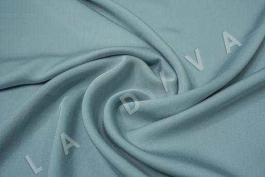 Вискоза плательно-костюмная серо-голубого цвета
