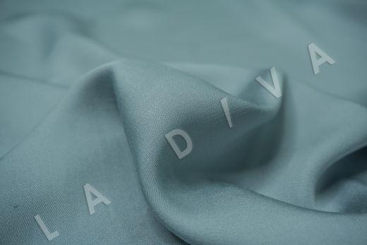 Вискоза плательно-костюмная серо-голубого цвета рис-3
