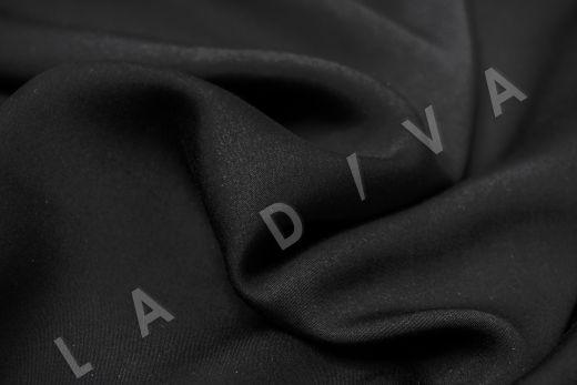 Вискоза плательно-костюмная чёрного цвета рис-3