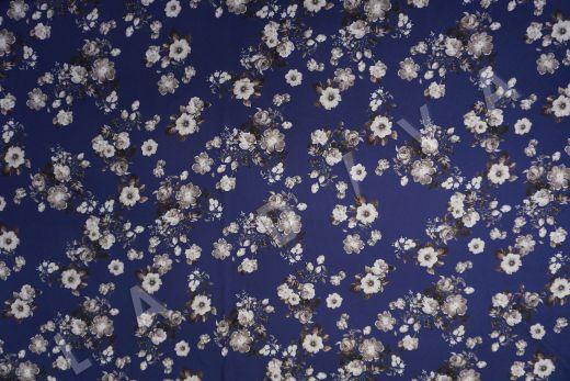 Вискоза плательная с цветочным принтом рис-2