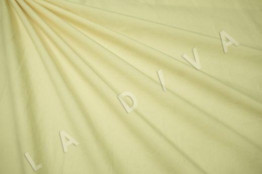 вареный (стиранный) хлопок желтого цвета
