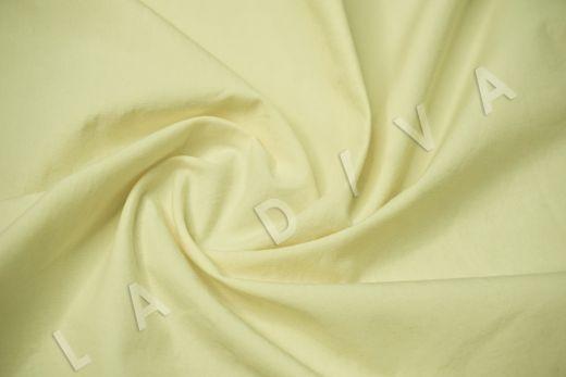 вареный (стиранный) хлопок желтого цвета рис-2