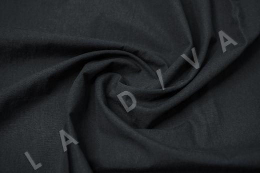 вареный (стиранный) хлопок черного цвета рис-4