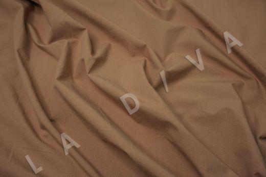 вареный (стиранный) хлопок коричневого цвета рис-3