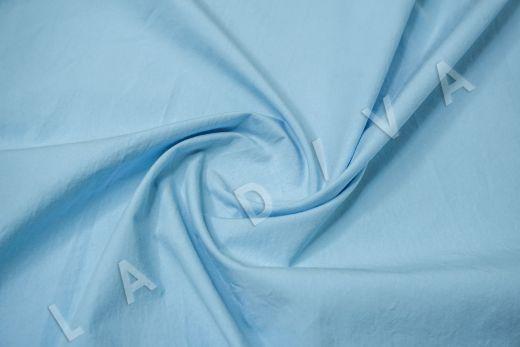 вареный (стиранный) хлопок голубого цвета рис-2