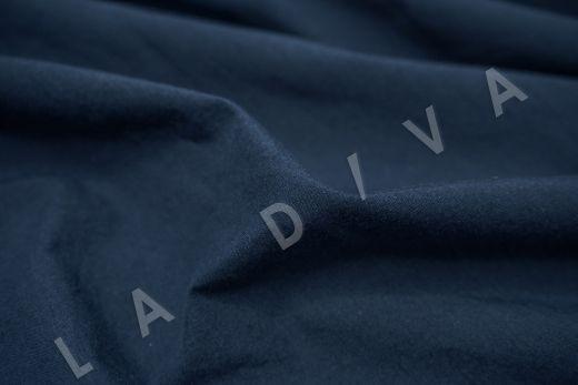 вареный (стиранный) хлопок синего цвета рис-3