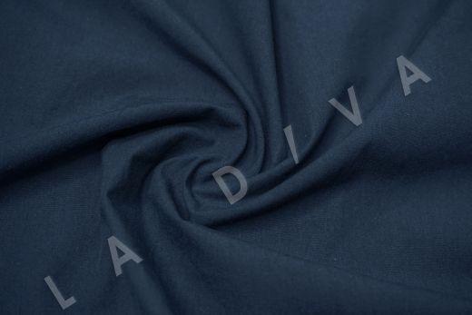 вареный (стиранный) хлопок синего цвета рис-4