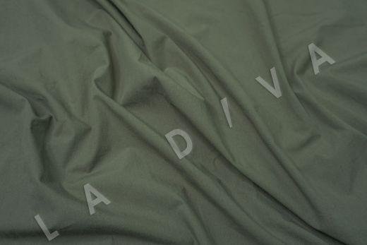 вареный (стиранный) хлопок зеленого цвета рис-2